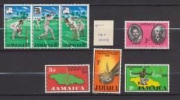 Jamaïque - Jamaica 1968 Lot De Timbres *** MNH Et * MLH - Jamaique (1962-...)