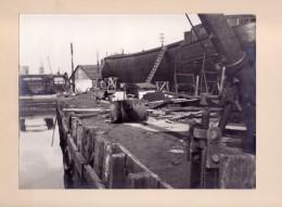 Foto  Photo - Scheepswerf Te Ledeberg - 1955 - Foto