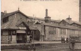 ARGENCES Grande Tuilerie Du Fresnes Et La Gare  2 Scans - Non Classés