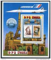Korea 1981,SC #2136, Specimen, S/S, Rembrandt & Picasso Painting - Rembrandt