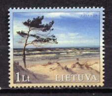 Lithuania 2001 Lituania / Baltic Sea Nature Landscapes MNH Paisajes Naturaleza Mar Báltico / Jj20  31 - Litauen
