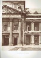 ECOLE MILTAIRE PARIS 7 DETAIL DE LA FACADE SUR LA COUR D HONNEUR ECOLE DE GUERRE ARCHITECTE 1911 CHAMP DE MARS - Architectuur