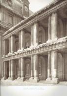 ECOLE MILTAIRE PARIS 7 PORTIQUES DE LA FACADE SUR LA COUR D HONNEUR ECOLE DE GUERRE ARCHITECTE 1911 CHAMP DE MARS - Architectuur