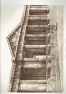ECOLE MILTAIRE PARIS 7 PORTIQUE LATERAL DE LA COUR D HONNEUR ECOLE DE GUERRE ARCHITECTE 1911 CHAMP DE MARS - Architectuur