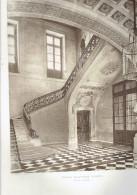 ECOLE MILTAIRE PARIS 7 GRAND ESCALIER ECOLE DE GUERRE ARCHITECTE 1911 CHAMP DE MARS - Architectuur