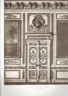 ECOLE MILTAIRE PARIS 7 PORTE SALON DES MARECHAUX ECOLE DE GUERRE ARCHITECTE 1911 CHAMP DE MARS - Architectuur