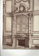 ECOLE MILTAIRE PARIS 7 CHEMINEE SALON DU GOUVERNEUR ECOLE DE GUERRE ARCHITECTE 1911 CHAMP DE MARS - Architectuur