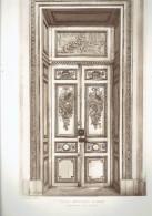 ECOLE MILTAIRE PARIS 7 PORTE D ENTREE DE LA CHAPELLE ECOLE DE GUERRE ARCHITECTE 1911 CHAMP DE MARS - Architectuur