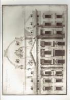 ECOLE MILTAIRE PARIS 7 DESSIN FACADE SUR CHAMP DE MARS ECOLE DE GUERRE ARCHITECTE 1911 CHAMP DE MARS - Architectuur