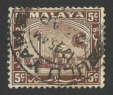 Selangor, 5 C. 1935, Sc # 48, Mi # 36, Used - Selangor
