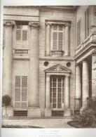 HOTEL GALLIFET 73 RUE DE GRENELLE ET 50 RUE DE VARENNE PARIS 7 DETAIL DE FACADE SUR LE JARDIN ARCHITECTE 1913 - Architectuur