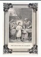 Bidprentje H. DUIJS Seraphiensche Order Minderbroeder Recollecten Rotterdam 1850 Bontamos Venloo Huisgezin Nazareth - Andachtsbilder