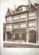 ARCHITECTE 1911 MAISON DE COMMERCE QUAI DE LA RAPEE A PARIS 12 A L ARSENAL MAISON ROULLET - Architectuur