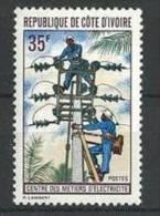 """Cote Ivoire YT 330 """" Métiers D'électricité """" 1971 Neuf** - Côte D'Ivoire (1960-...)"""
