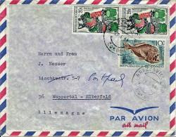 Congo / Brazz. - Umschlag Echt Gelaufen / Cover Used (N941) - Usados