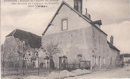 CPA PROVINS (77) RUINES DE L' EGLISE DU REFUGE DES MOINES DE L' ABBAYE DE PREUILLY - ANIMEE - Provins