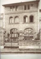 L ARCHITECTE 1911 HOTEL PARTICULIER 1 RUE LOUIS DAVID A PARIS 16 - Architectuur