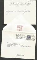 B2V23---    ITALIA, VARIE,    CRESCENZO MAZZA,  MINISTRO SEGRETARIO DI STATO.   1968, - Autographs