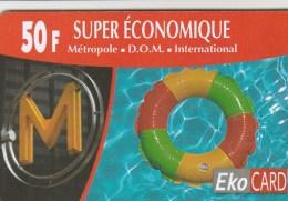 Reunion - EkoCard - XTS Telecom - Super Economique - 2
