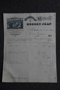 Facture Ancienne , ST ETIENNE, Manufacture De Fourneaux, ROBERT JEAN. - 1800 – 1899
