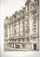 L ARCHITECTE 1911 IMMEUBLE DE RAPPORT 24 26 ET 28 RUE CHARLES BAUDEALIRE A PARIS 12 - Architectuur