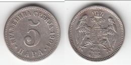 **** SERBIE - SERBIA - 5 PARA 1904 MILAN I **** EN ACHAT IMMEDIAT - Serbie