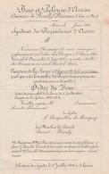 Syndicat Propriétaires Bois Et Pelouse AVRON NEUILLY PLAISANCE Situation Financière 1910 -11 - Déchirure Mais Propre - Documentos Históricos