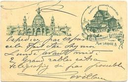 Anvers NA22: Exposition Universelle D'Anvers 1894: Café-Restaurant Levillain - Belgique