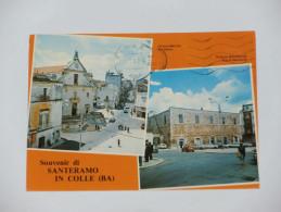 BARI - Souvenir Di Santeramo In Colle - 2 Vedute - 1983 - Bari