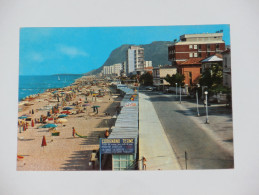 PESARO URBINO - Pesaro - 1966 - Spiaggia E Monte Ardizio - Pesaro