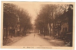 AUPS - AVENUE GEORGES CLEMENCEAU - C.t - Draguignan