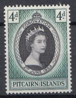 Pitcairn - Krönung Der Köningin Elisabeth II/Kroning Van Koningin Elisabeth II - MH - M19 - Postzegels