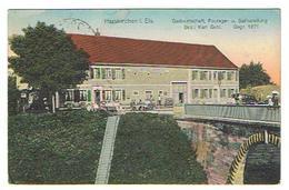CPA 67 HARSKIRCHEN Gastwirtsshaft Fourage U. Seilhandlung - Autres Communes