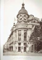 L ARCHITECTE 1911 NOUVEAUX MAGASINS DU PRINTEMPS BOULEVARD HAUSSMANN RUE CAUMARTIN PARIS 9 - Architectuur