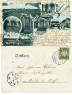 Y489 AK Gruss Aus Kloster Heilsbronn St. Heilsbronn N. Vach - Heilbronn