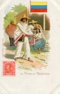TIMBRE(VENEZUELA) - Briefmarken (Abbildungen)