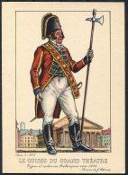 1935 Belgium Bruxelles Exposition Universelle Postcard - Le Suisse Du Grand Theatre - Exhibitions