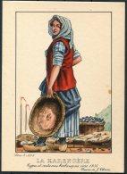 1935 Belgium Bruxelles Exposition Universelle Postcard -  La Harengere - Exhibitions