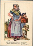1935 Belgium Bruxelles Exposition Universelle Postcard -  La Marchande De Moules - Exhibitions