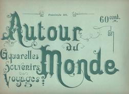 TURQUIE - 8 AQUARELLES -  Fascicule  AUTOUR DU MONDE - TYPES ET MOEURS - Books, Magazines, Comics