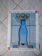POSTER COCA COLA SPONSOR UFFICIALE GIOCHI OLIMPICI-BARCELLONA-SPAGNA-1992 - Advertising Posters