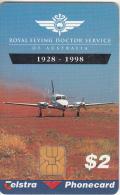 AUSTRALIA(chip) - Royal Flying Doctor Service, Tirage 50000, Exp.date 06/00, Used - Australia