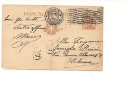 $3-4731 Annullo Meccanico Targhetta LA RINASCENTE NOVITA' PALERMO 1924 - Storia Postale