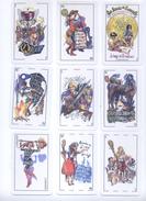 BARAJA ESPAÑOLA DE LAS NOVELAS DE MIGUEL DE CERVANTES - Cartes à Jouer Classiques