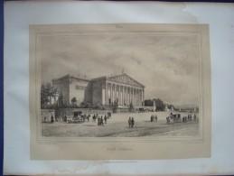 Paris: Assemblée Nationale. Lithographie De Julien Jacottet, 1843. - Lithographies