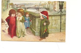 $3-4778 Illustratori Bertiglia NON VIAGGIATA - Bertiglia, A.