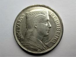 Latvia 5 Lati 1932 - Lettonie