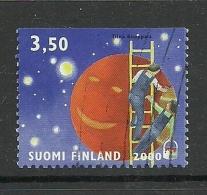 FINLAND FINNLAND 2000 Michel 1512 Planet Jupiter O - Finland