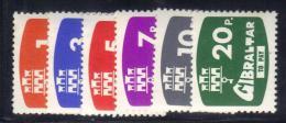 GIBILTERRA 1976 , Segnatasse Serie N. 7/12  MNH  *** - Gibilterra