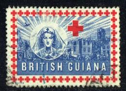 World War II   Red Cross Appeal  Label - British Guiana (...-1966)
